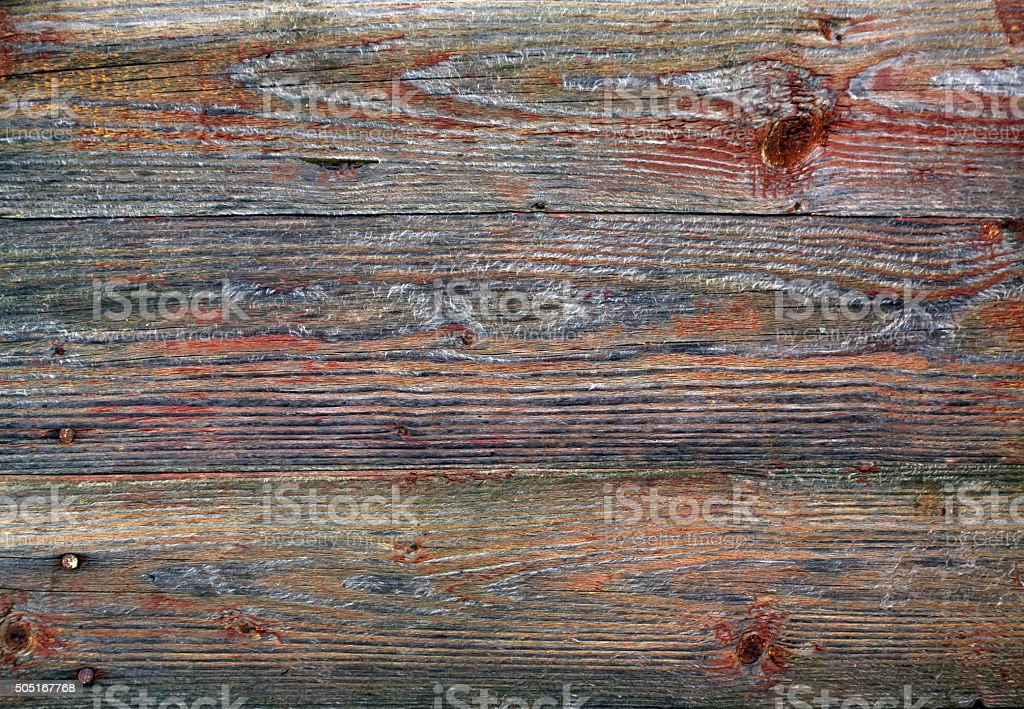 Weathered wooden wall texture. stock photo