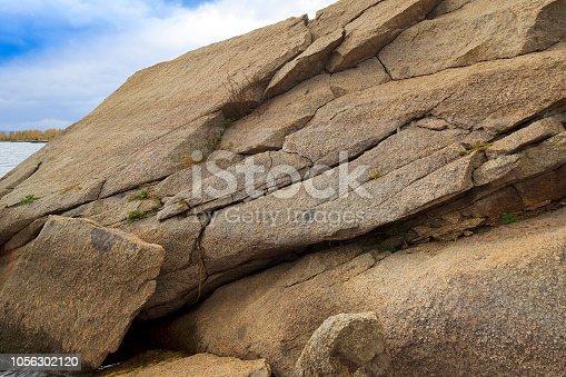 Weathering of stones