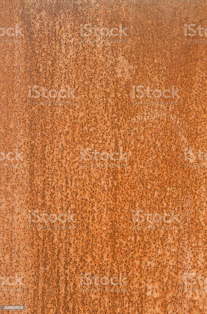 Verwitterung Stahl Datenblatt (corten Stahl) Muster – Foto