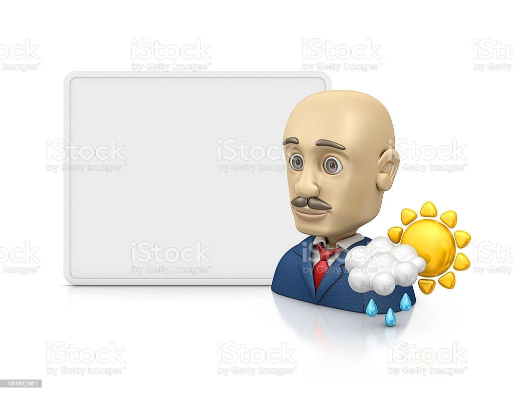 weatherman - foto de acervo