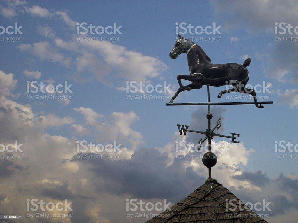 Weathervane stock photo