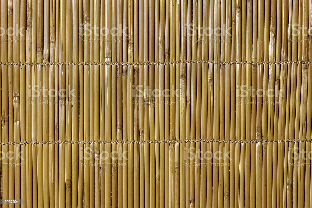 Weaved bamboo thatch. stock photo