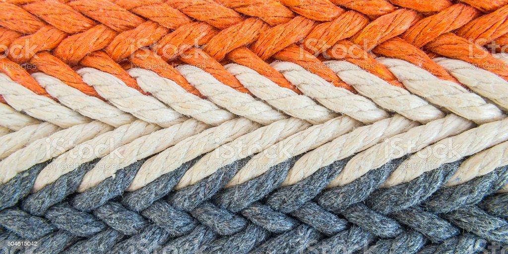 weaved string stock photo