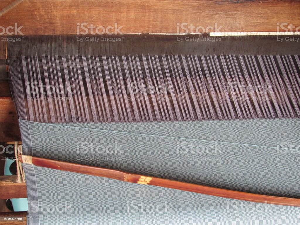 Weaving in Detail stock photo