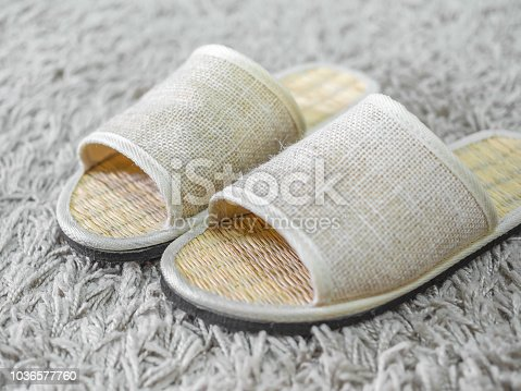 955947208 istock photo Weaving shoes 1036577760