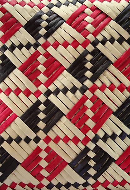 Weaving texture stock photo