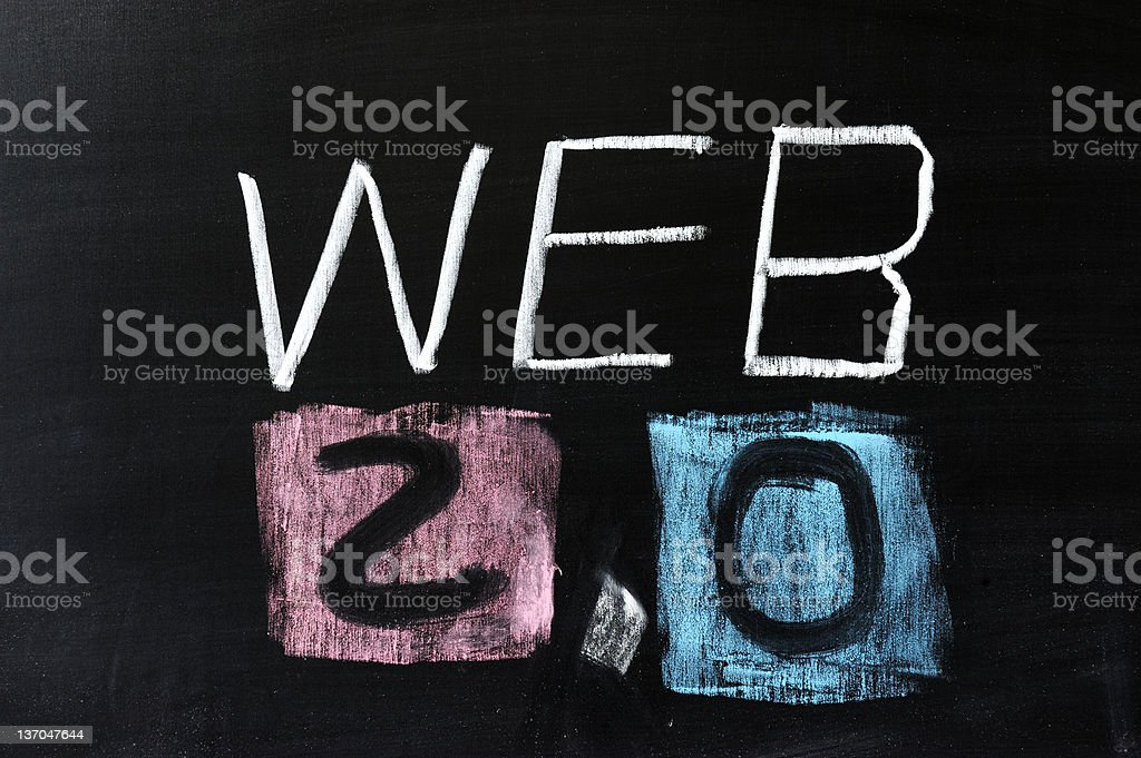 Web 2.0 stock photo