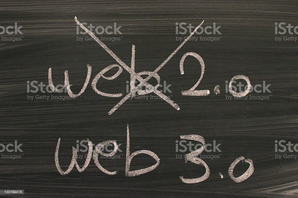 web 3.0 stock photo