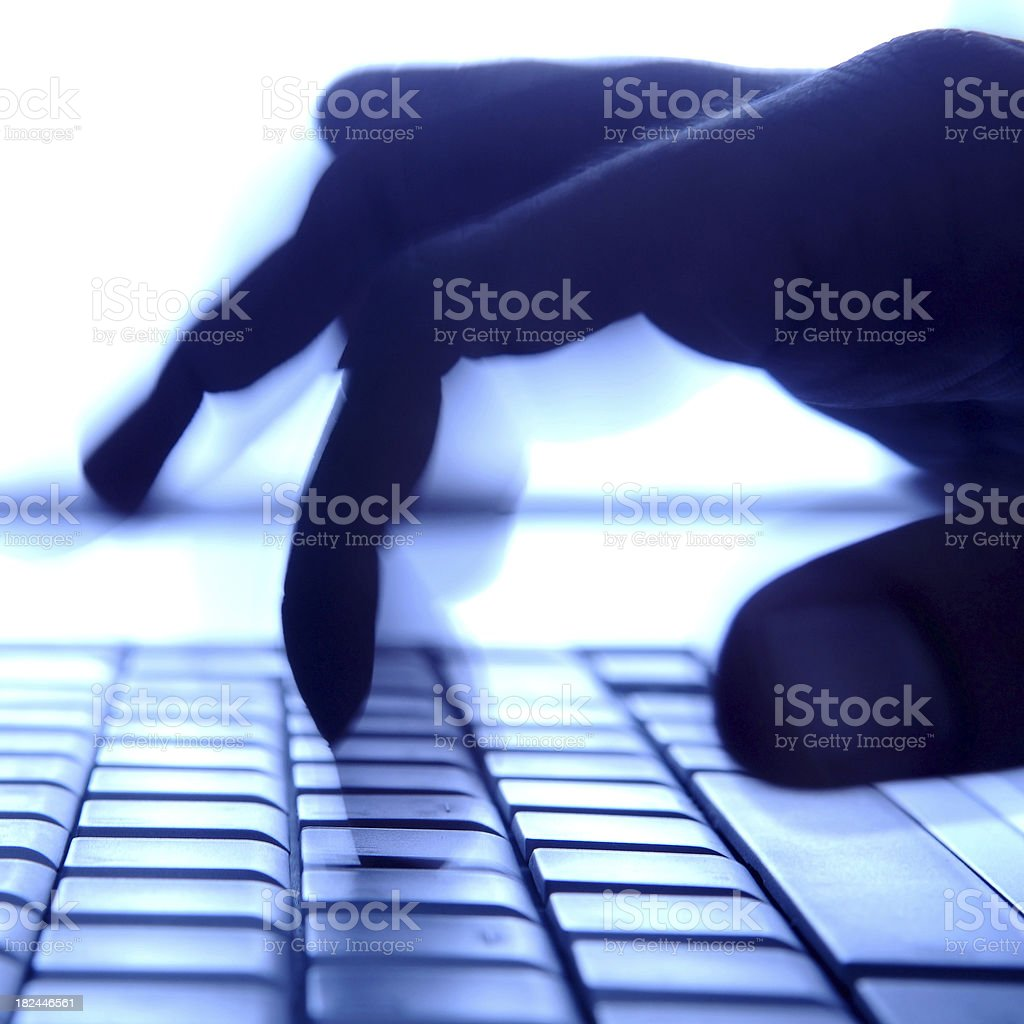 web  and security system royalty-free stock photo