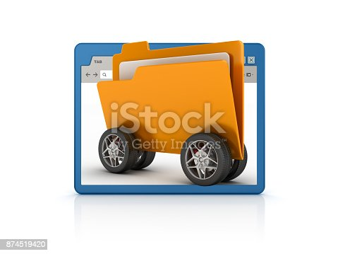 1129712029 istock photo Web Browser - 3D Rendering 874519420