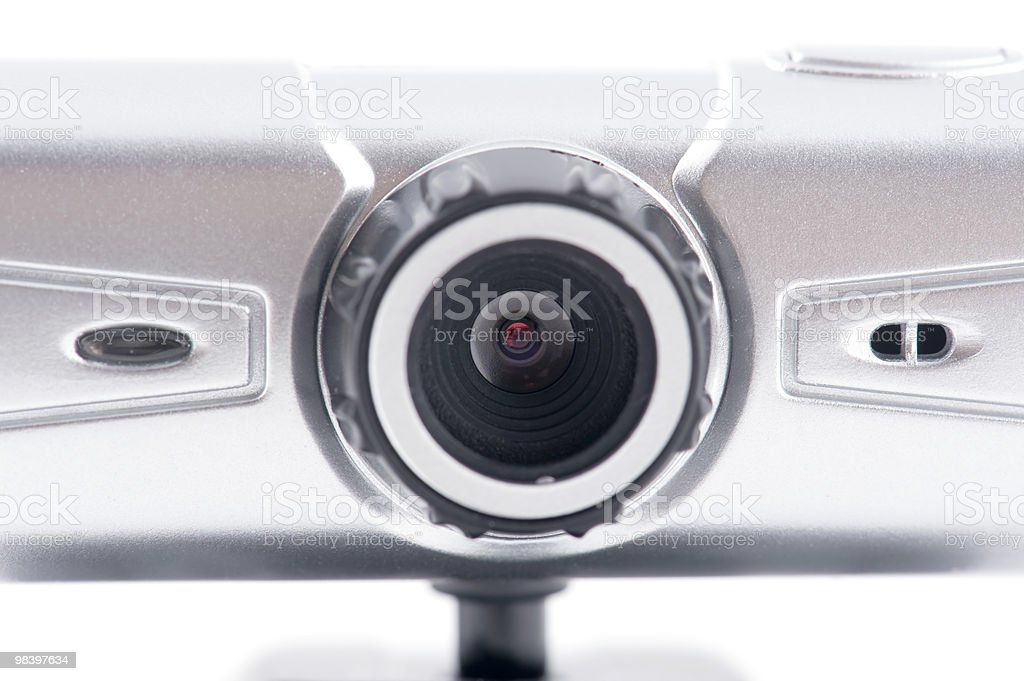 web camera closeup royalty-free stock photo