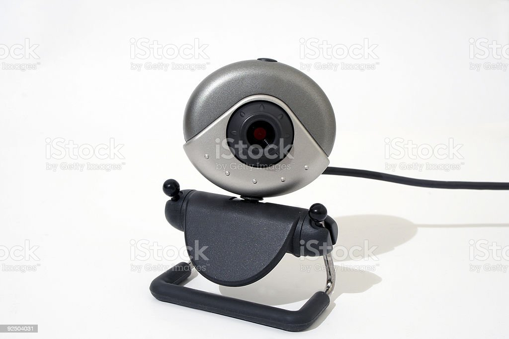 Web camera royalty-free stock photo