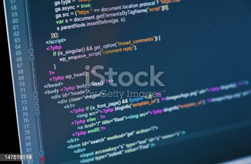 istock Web Code 147519119