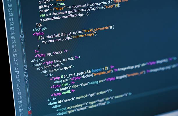 internet-code - html stock-fotos und bilder