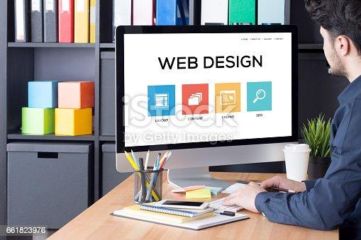 istock Web Design Concept 661823976