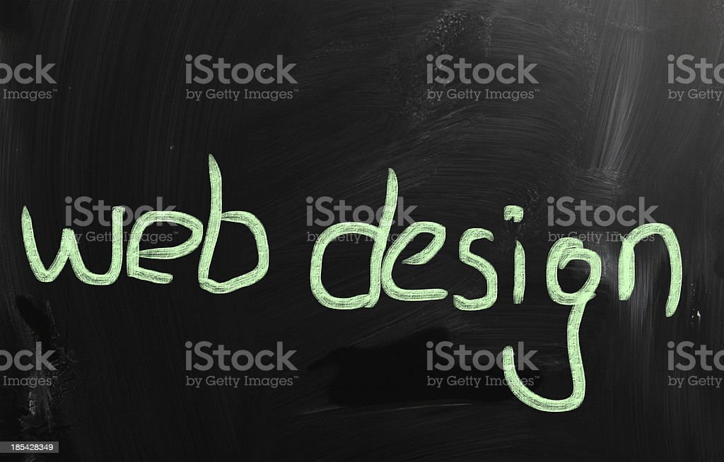 web design concepts royalty-free stock photo