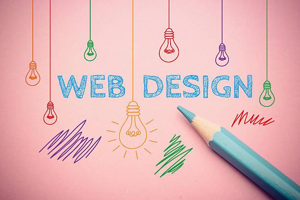 web design - web designer stock photos and pictures