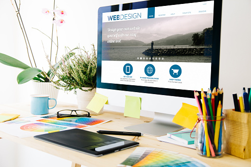 Webdesignstudio Stockfoto und mehr Bilder von Atelier