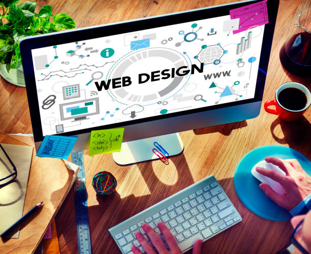 Web Design Technology Browsing Programming Concept stock photo