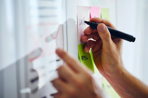 Web Designer Planung Website ux App-Entwicklung – Foto