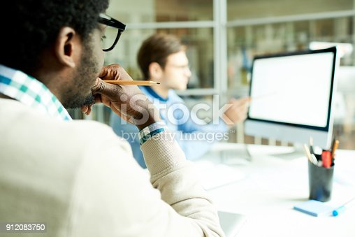 istock Web Developers Planning Project 912083750
