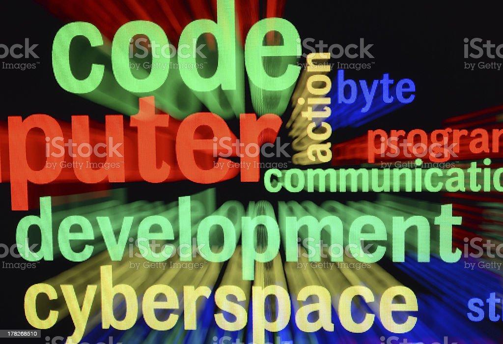 Web development royalty-free stock photo