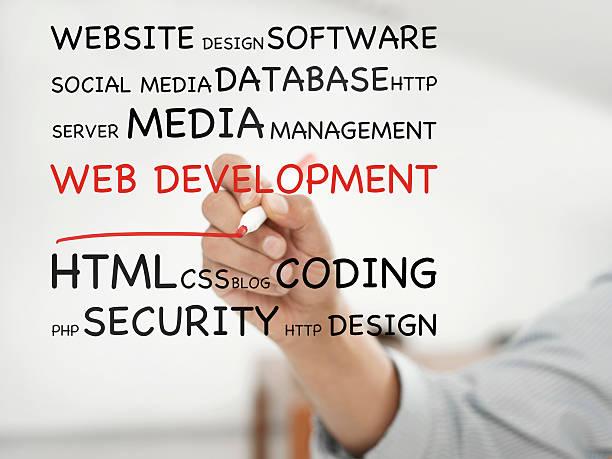 desarrollo web - website design fotografías e imágenes de stock