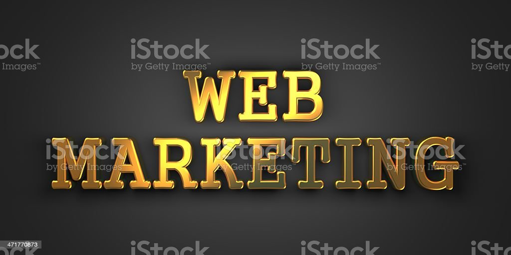 Web Marketing. Business Concept. royalty-free stock photo
