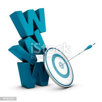 istock Web Marketing Strategy, Internet Business 161923621