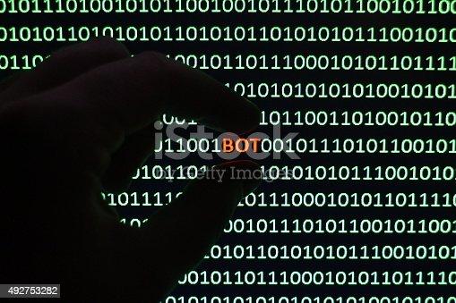 istock Web Robot 492753282