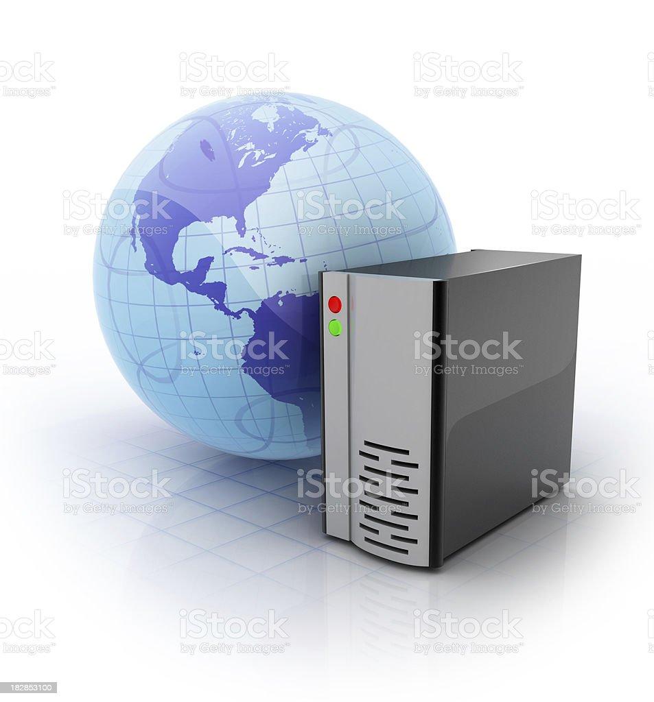 Web Server royalty-free stock photo