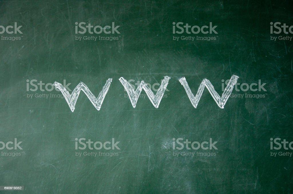 web sign stock photo