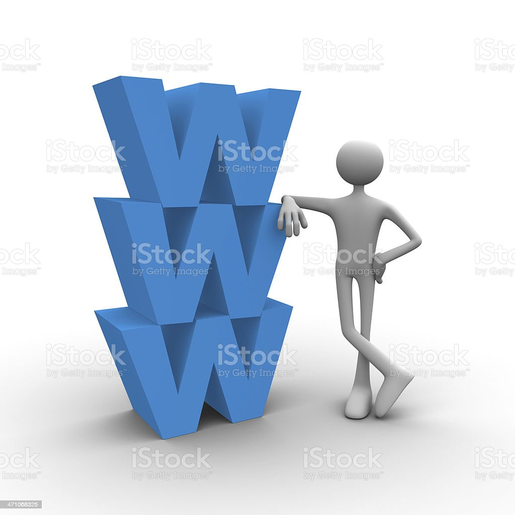 Web solutions royalty-free stock photo