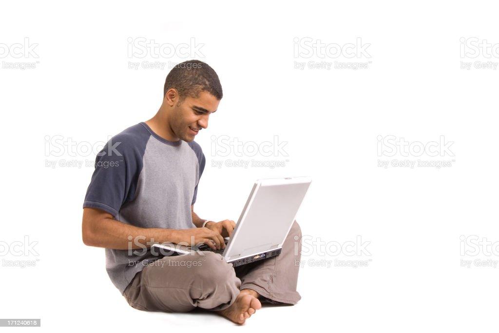 Web surfing stock photo