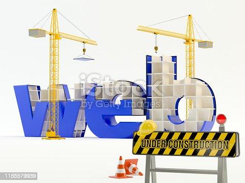 istock Web under construction 1155579939