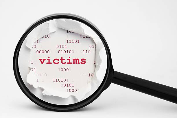 web victims concept - victim stock pictures, royalty-free photos & images