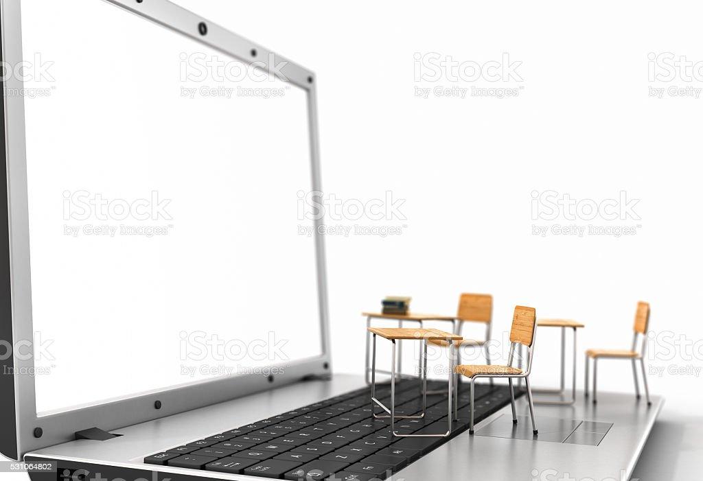 Webinar concept. stock photo