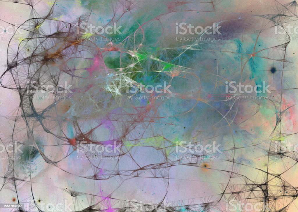 weblike abstract stock photo