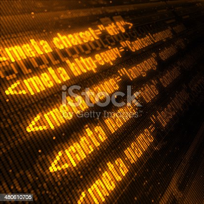 istock Webpage Codes 480610705