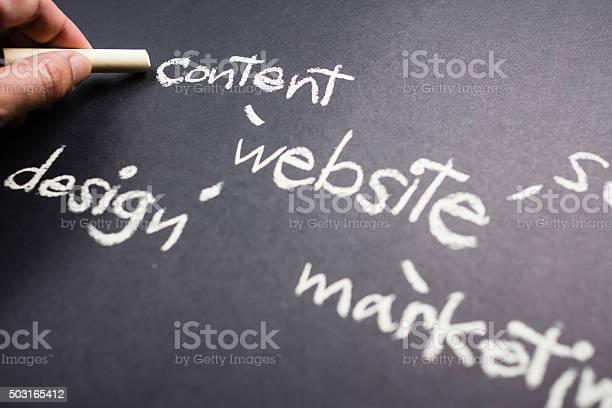 Websiteinhalte Stockfoto und mehr Bilder von Bildung