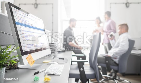 istock Website design. Developing programming and coding technologies. 1016763746