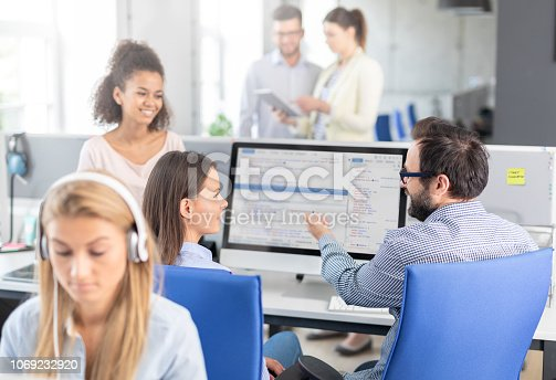 istock Website design. Developing programming and coding technologies. 1069232920