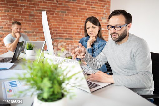 832124312istockphoto Website design. Developing programming and coding technologies. 1179186234