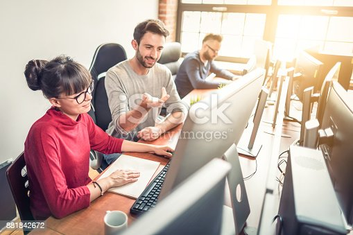 istock Website design. Developing programming and coding technologies. 881842672