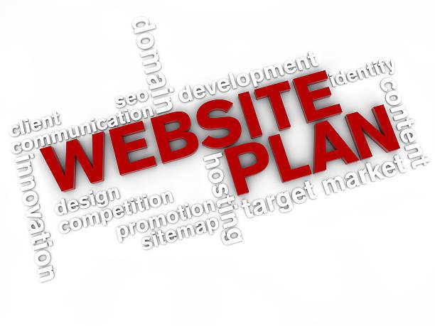 Website-Plan – Foto