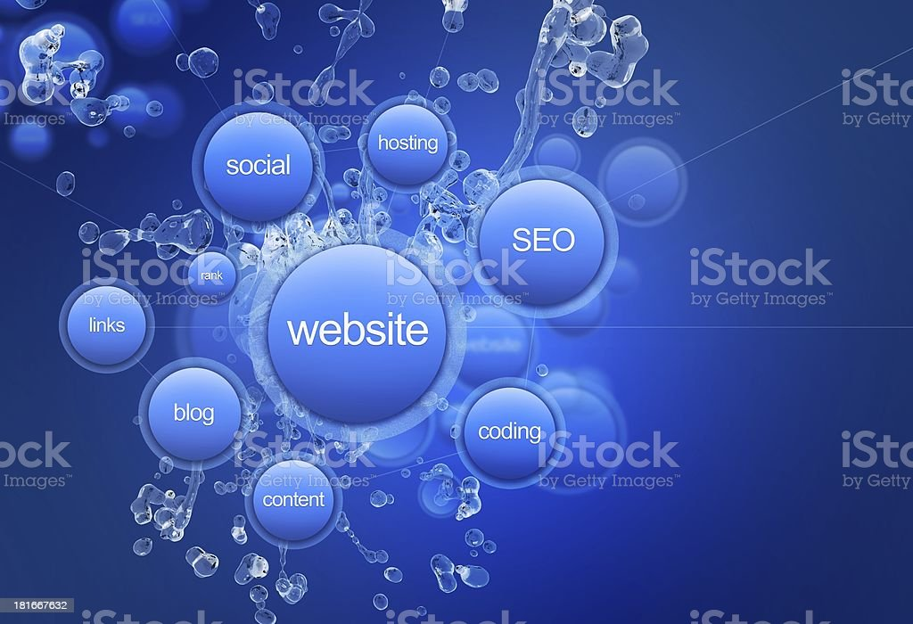 Website Project royalty-free stock photo