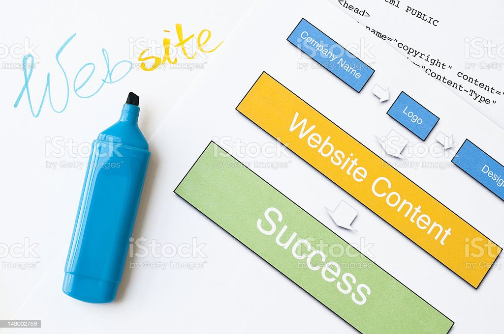 Website success royalty-free stock photo