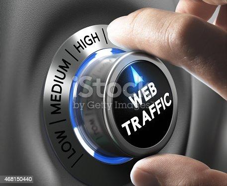 istock Website Traffic 468150440