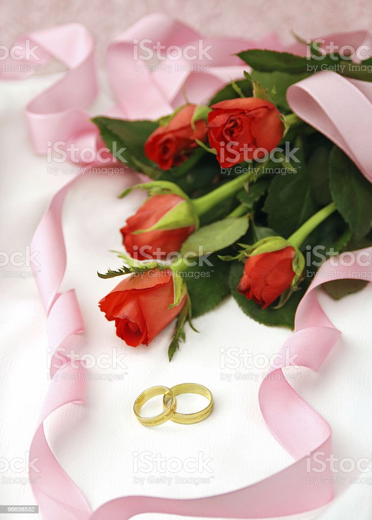 Wedding arrangement royalty-free stock photo