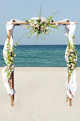 Wedding at the beach in Italy